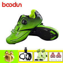 BOODUN cycling shoes road sapatilha ciclismo bicycle pedals outdoor sneakers self-locking sneakers Athletic bike superstar shoes(China)