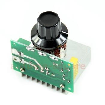 AC 220V 3800W SCR Regulator napięcia ściemniacze ściemniacze Regulator prędkości termostat Dropship tanie i dobre opinie TCAM CN (pochodzenie) 8QQ0302