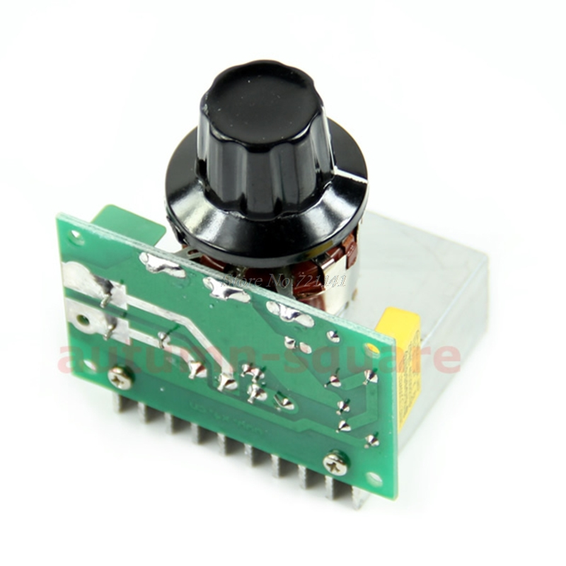 AC 220V 3800W SCR Voltage Regulator Dimming Dimmers Speed Controller Thermostat Dropship