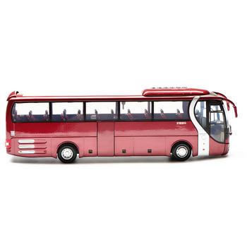 Collectible Alloy Model Gift 1:42 Scale Yutong ZK6120R41 MAN Lion's Star City Transit Bus Vehicle DieCast Toy Model Decoration
