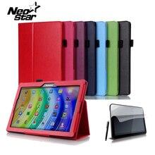 """Para lenovo tab2 a10 70f inteligente flip case cubierta de cuero para lenovo tab 2 a10-70 a10-70f a10-70l tablet 10.1 """"con pantalla Protector"""