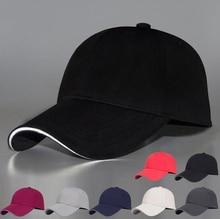Reflective Fabric Adjustable 3D Cap Men Women Outdoor Sports Hat Night Vision Security Snapback Gorras Hip Hop Baseball Cap