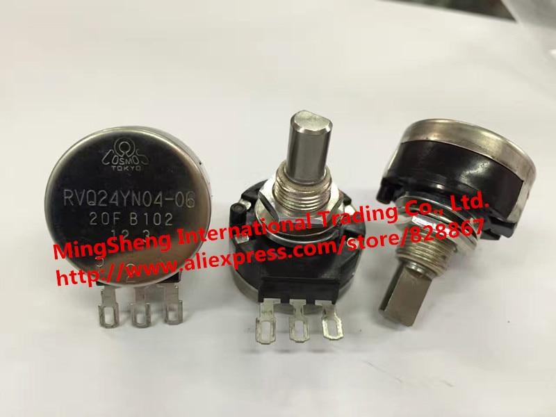 Original new 100% RVQ24YN04-06 20F B102 1K import single potentiometer (SWITCH)Original new 100% RVQ24YN04-06 20F B102 1K import single potentiometer (SWITCH)