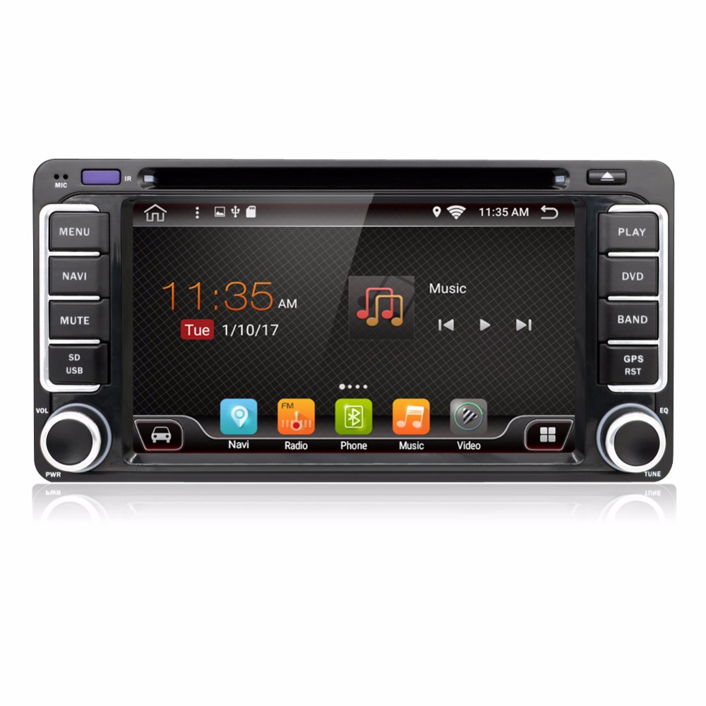 KLYDE Android 8.1 8 Core Car Radio For 6.2