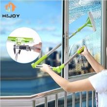 New Telescopic High-rise Cleaning Glass Sponge Mop Multi Cleaner Brush Washing Windows Dust Brush Easy Clean the Windows Hobot