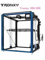 Новинка Tronxy X5ST 500 3d Принтер Комплект 500x500x600 Тепловая кровать большой размер печати DIY наборы с сенсорным экраном нити детектор