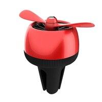 Criativo Hélice de Ar Do Carro Desabafar Perfume Gel Difusor Ambientador Interior Clipe Acessórios Acessórios No Atacado Produtos Supplie