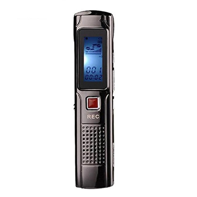 8G Dictaphone Audio Sound Recorders MP3 Player Digital Voice Recorder Pen Portable Rechargeable Dictaphone gravador de voz