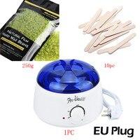 Hương Vị Trà xanh sáp Cứng Đậu 250 gam Lau Gậy MINI SPA tay Máy Cạo Lông Hot Sáp Ấm Heater Pot Làm Rụng Lông Wax Heater b