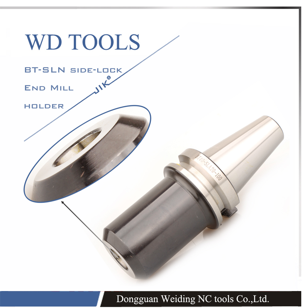 BT40 SLN25 100L Side Lock taper & end mill clamping bar Type Clamping 25mm Weldon shank tools U Drill Holder