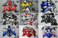 Мотоцикл Обтекатели для Yamaha r1 20072008 YZF R1 07 08 YZFR1 YZF R1 Fortuna части тела обтекателя (литье под давлением) 2007 2008