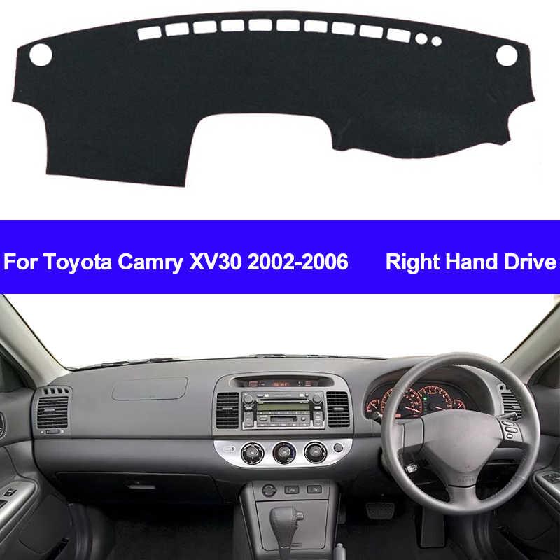 Per Toyota Camry XV30 2002 2003 2004 2005 2006 Car Dashboard Copertura Dash Zerbino Pad Dash Coperchio Della Scheda di Tappeto Auto sole Dash Zerbino