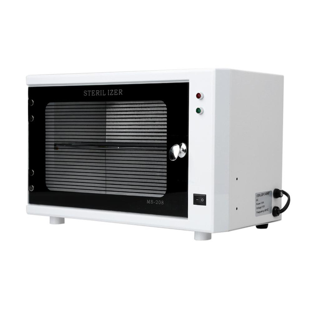 10w Strong Uv Reflection Sterilizer Cabinet Nail Towel Makeup Brush Scissors Disinfection Art Equipment