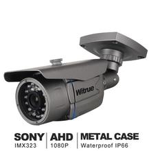 AHD Camera1080P 監視カメラソニー IMX323 20 メートルナイトビジョン CCTV カメラ Ir 屋外防水セキュリティカメラ