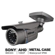 AHD Camera1080P Telecamera di Sorveglianza Sony IMX323 20 M di Visione Notturna del CCTV Della Macchina Fotografica di IR Esterno Impermeabile Telecamera di Sicurezza