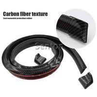 Car Carbon Fiber Spoilers Sticker For Mitsubishi ASX Lancer 10 9 Outlander Pajero For Suzuki Swift Grand Vitara SX4 Accessories