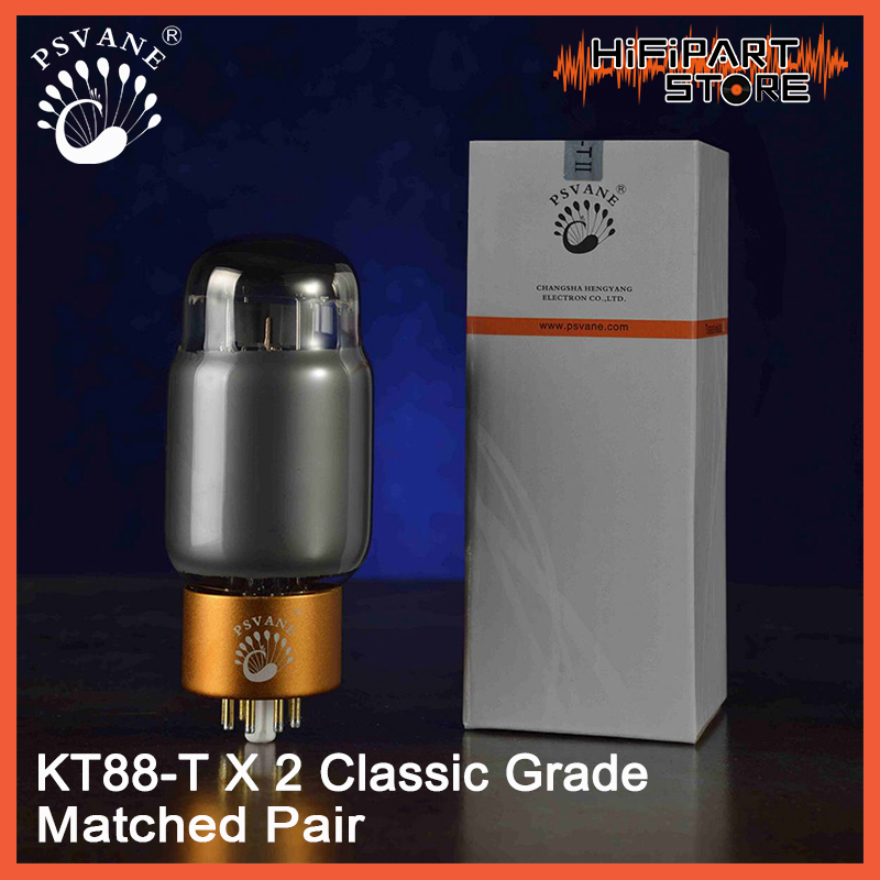 2pcs PSVANE KT88 T MKII Classic Grade Valve Matched Pair Tube amplifier accessories Repalce Shuguang JJ