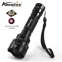 AloneFire X510 IR Lamp Torch IR 850NM Night Vision Infrared Flashlight To Hunt+Remote Pressure For Hunting Trip