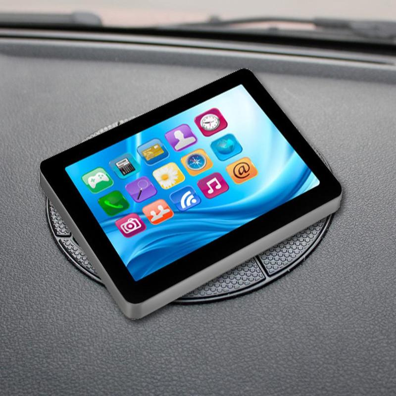 13cm Silicone Dia Football Style Car Dashboard Sticky Silicone Pad Smartphone Non-Slip Silicone Car Anti-Slip Mat Phone Holder
