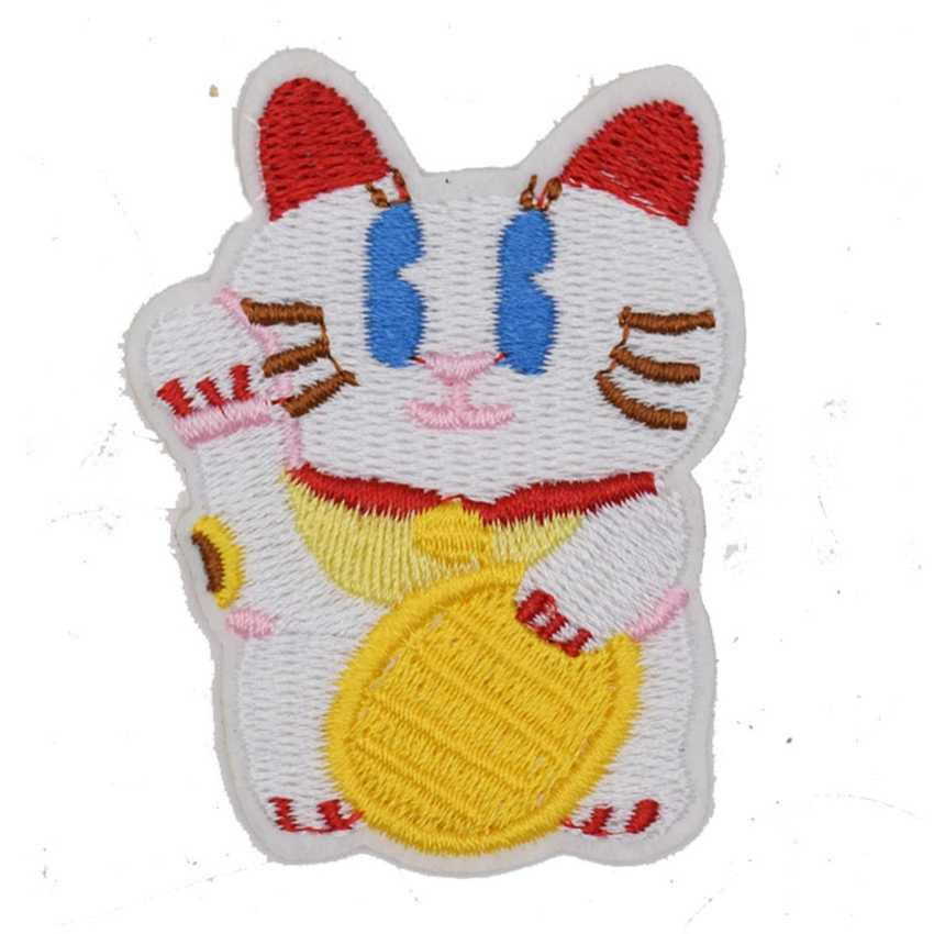 i crochet things: Pattern: Maneki-Neko (Beckoning Cat) Amigurumi | 850x850