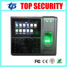 Face and finegrprint time attendance and access control system TCP/IP linux system employee attendance iface503 1500 users