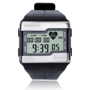 Image 2 - Sports Watches Fashion Multifunction Touch sensitive Heart Rate Monitor Watch Men Sport Watch Good Quality Digital Watches