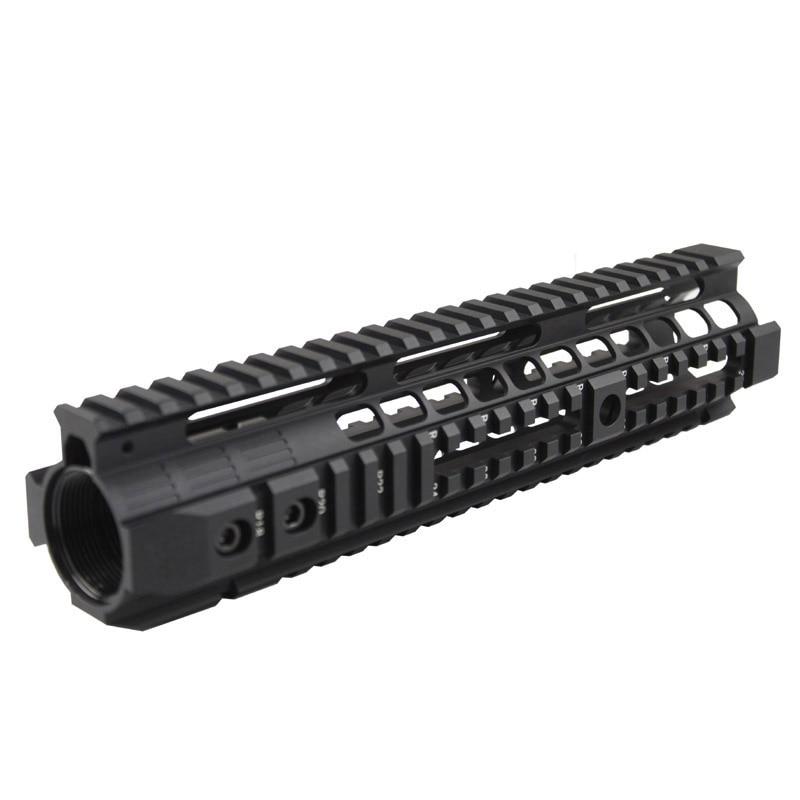 High quality Picatinny rail 12.6 inch handguard rail system(BK/DE ) For Airsoft AEG M4 M16