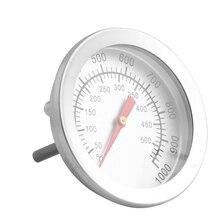50-500 Цельсия нержавеющая сталь барбекю Барбекю курильщик гриль термометр датчик температуры термометр для печи