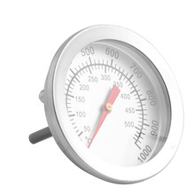 50-500 Celsius Stainless Steel Barbecue BBQ Smoker Grill Thermometer Temperature Gauge(China)