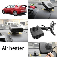 12V Car Auto Vehicle Portable Electric Heater Heating Fan Defroster Window Screen Demister Hot Warm Air