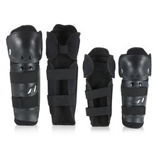 Motorcycle Racing Knee Guards Elbow Knee Pad Shin Guard Pads Breathable Adjustable Knee Cap Pad Protector Elbow Armor(China)