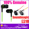 Free shipping Original Soundmagic ES18  in ear earphones  hifi earbud earphone