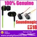 Frete grátis original soundmagic es18 in ear earbud fone de ouvido fones de ouvido de alta fidelidade
