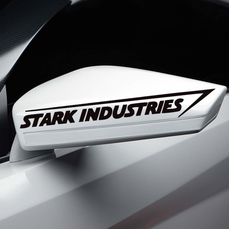 Stark Industries Sticker Marvel Iron Man Avengers Car Window