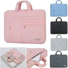 Мужская Женская Портативная сумка для ноутбука чехол для Asus acer lenovo Dell hp Macbook Air Pro 13 13,3 14 15,6 дюймов