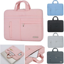 Männer Frauen Tragbare Notebook Handtasche Laptop Tasche Sleeve Fall Für Asus Acer Lenovo Dell HP Macbook Air Pro 13 13,3 14 15,6 Zoll