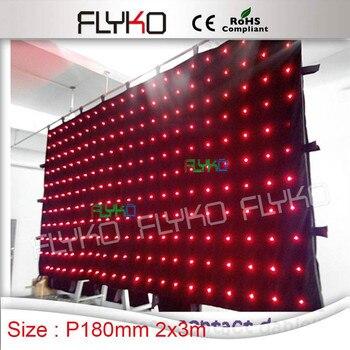 Novos produtos inovadores produto flexível cortina de led para cenários de palco