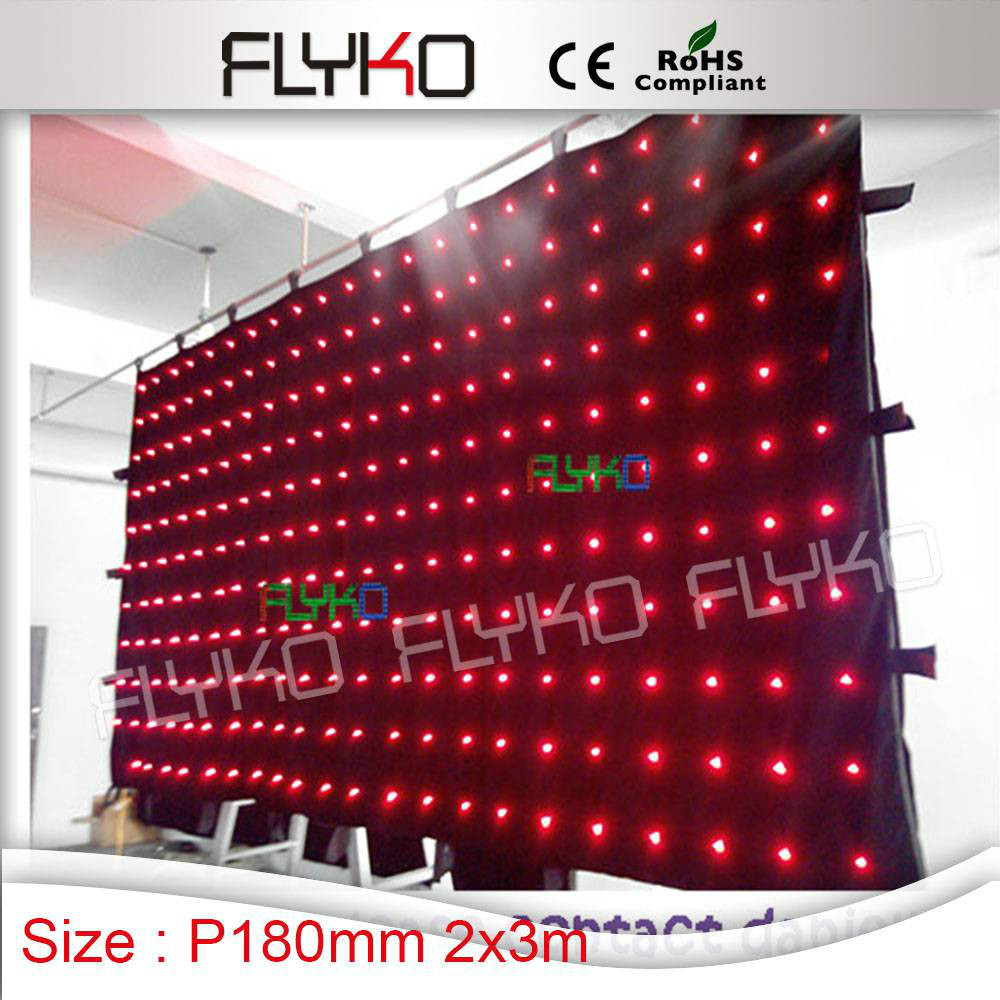 new products innovative product flexible led curtain for stage backdrops