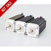 3 STÜCKE Nm/425oz. in Nema 23 Schrittmotor 4.2A 4-leiter 10mm Welle DIY CNC Mühle Drehmaschine Router