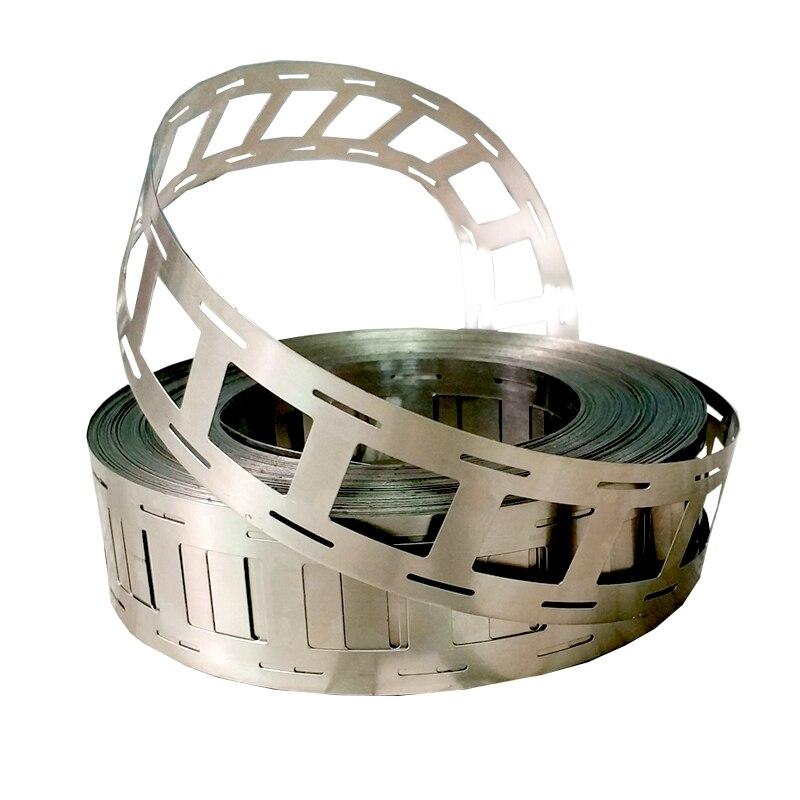 High Purity Pure Nickel Plate Strap Strip Sheets 5M 0.15*7*27mm For Battery Spot Welding Machine Welder Equipment
