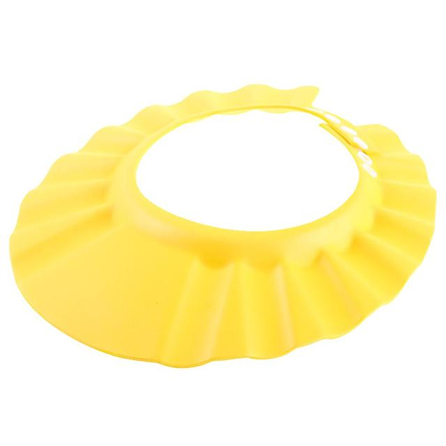 1 PCS 26*28.5 cm Safe Waterproof Protect Eyes Hair Shower Bathing Tools For Kids Adjustable EVA shampoo cap 1