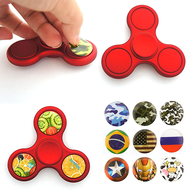 DIY Fid Spinner Hand Spinner Fid Toys with stickers 2017 New