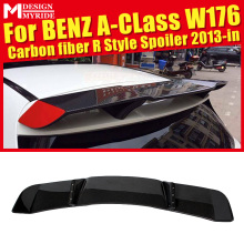 For Mercedes Benz W176 Rear Spoiler A-Class A180 A200 A250 Sports R Style Carbon Fiber Frunk Wing car styling 13-18