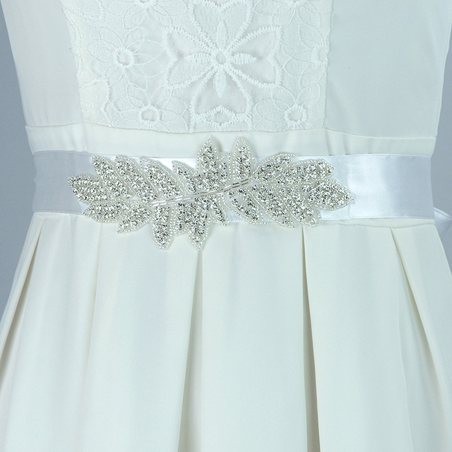 Fine Crystal Beaded Bridal Belt Retro Wedding Belts And Sashes Wedding Dress Decoration Accessories Sash