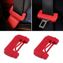 Car Condom Belt Clip Plug Protective Sleeve Safety Buckle Jacket Interior Accessories Seat