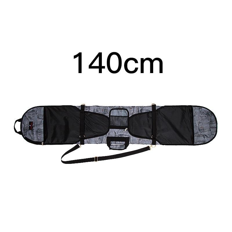 Лыжный Спорт Сумки; специальное предложение; Модные женские джинсовые шпон доска набор для пельменей для катания на сноуборде сумка для катания на сноуборде Анти-Царапины шпон Защитная крышка - Цвет: Светло-желтый