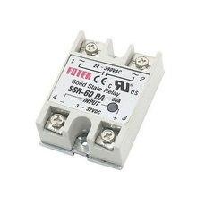 цена на Ssr-60da kontrol suhu AC 24 V - 380 V Output Relay Solid state, 60A SSR-60DA