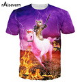 Raisevern New Animal Cat Print 3D T Shirt Kitten The Destroyer T-shirt Harajuku Style Men Women Top Tees T-shirts Plus Size