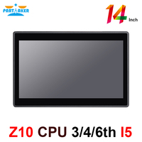 Partaker Elite Z10 Desktop All In One PC With 14 Inch Desktop 10 Points Capacitive Touch Screen Intel Core I5 3317u