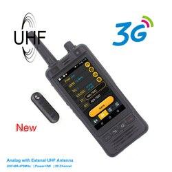 Nieuwe Anysecu 3G Wifi Radio W5 Android 6.0 Telefoon PTT Radio IP67 UHF Walkie Talkie 5MP Camera REALPTT ZELLO POC transceiver